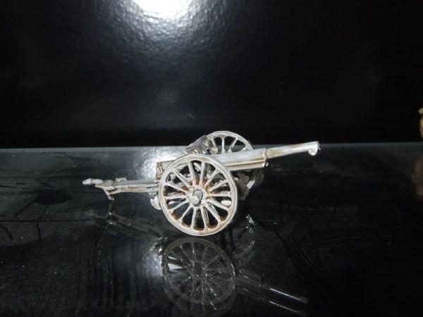 French 75mm model 97 wooden wheels