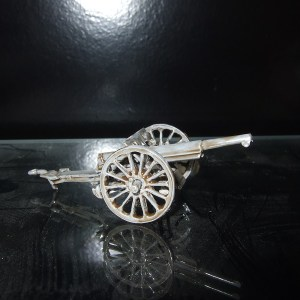 French 75mm model 97 wooden wheels