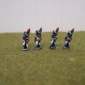 French Grenadiers Bearskins x4