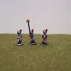 Grenadiers bearskin command