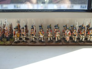 24 figure regiment Hanovarians