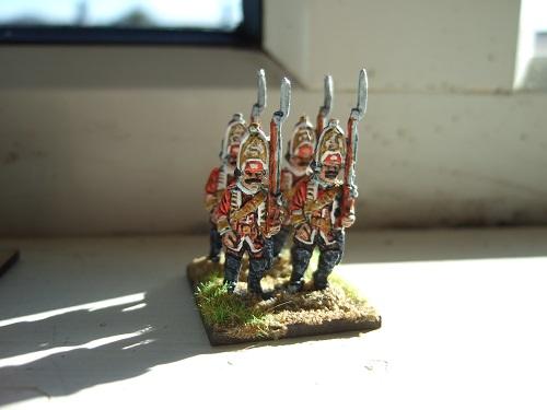6x Grenadiers advancing