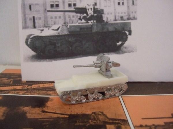 Lorraine with 47mm Anti tank gun