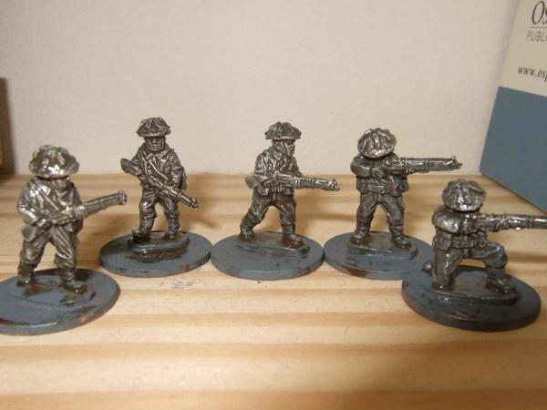 infantry pack 5 different poses