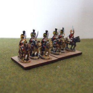 French Hussars x4