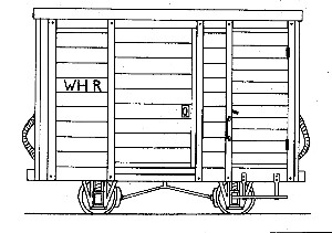 WHR 4-Wheel Goods Brake Van