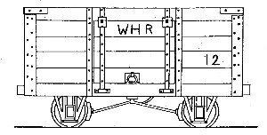 WHR 4-Wheel 4 Ton Mineral Wagon