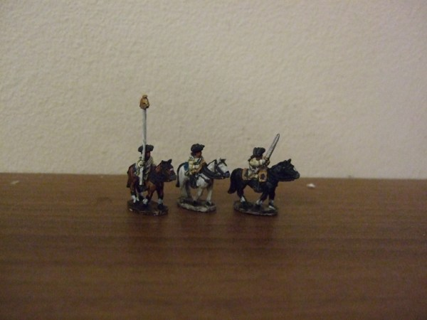 Prussian Cuirassier command