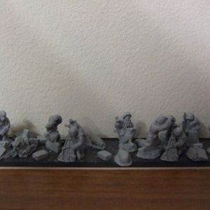 R11 2x82mm M37 motar teams 10 figures