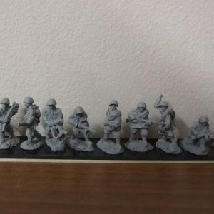 R2 infantry section assualting 10 figures