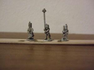 French line command shako