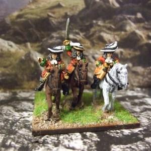 Trooper command 3 figures