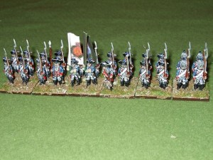 Regiment pack of 24 figures