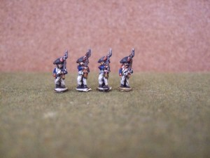4 Grenadiers campaign dress Bicorn