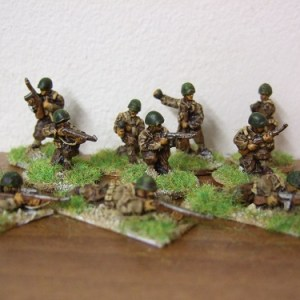 inf section giving covering fire 42/45