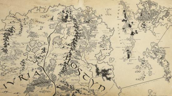 gergia partial antique map lance schaubert fantasy world map cartography