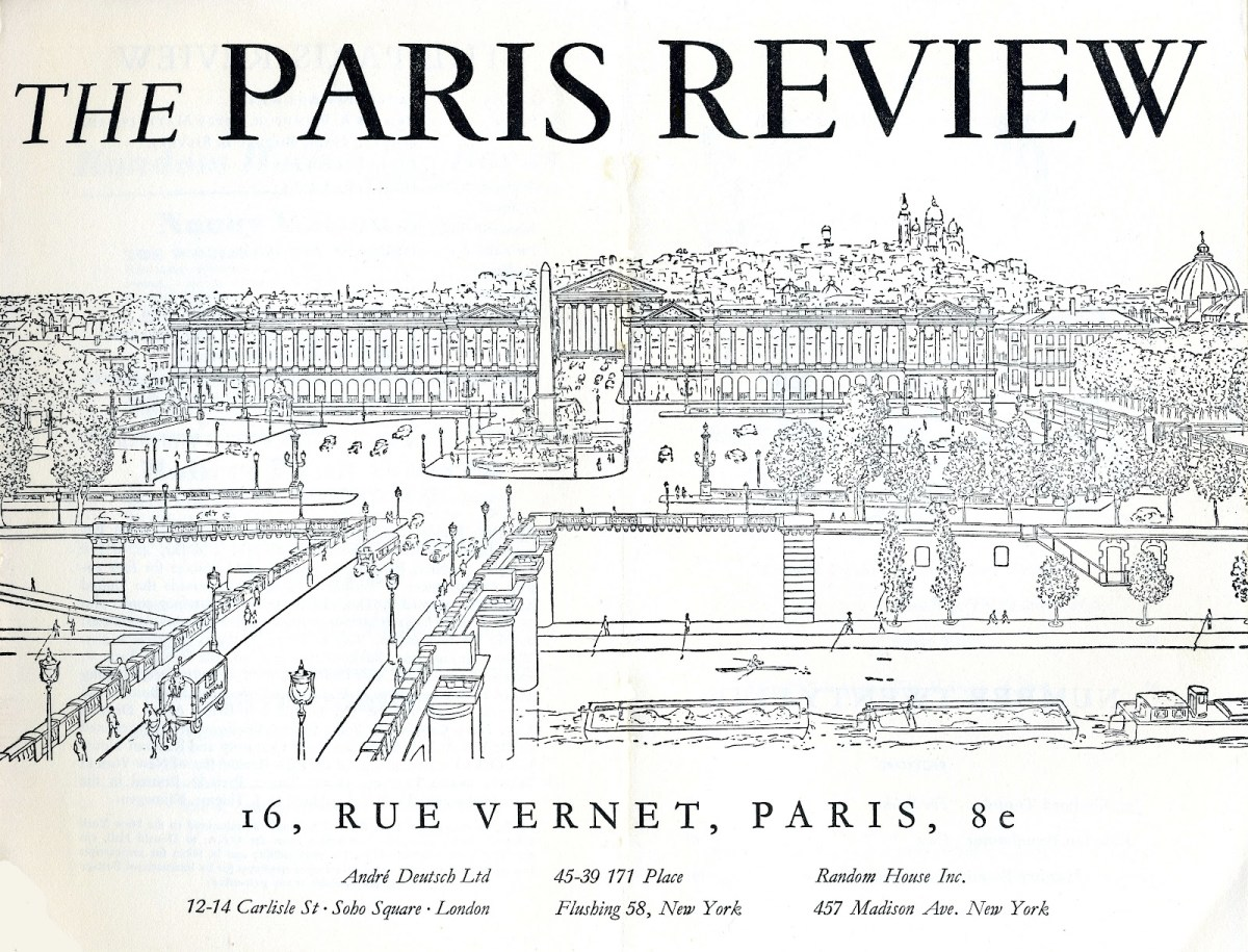 Paris Review Art of Fiction List