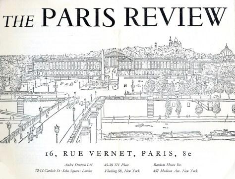 paris review art of fiction list