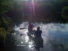 makehouse retreat canoeing
