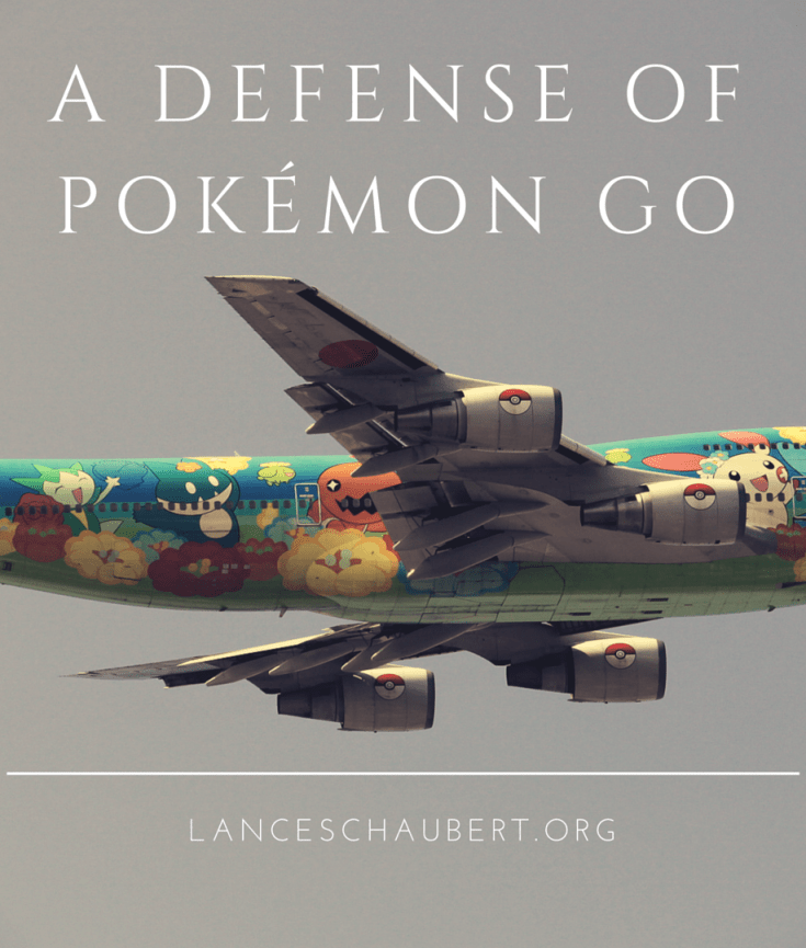 a defense of pokémon go lance schaubert chesterton defendant bad knife is a good knife not so good as the one you prefer