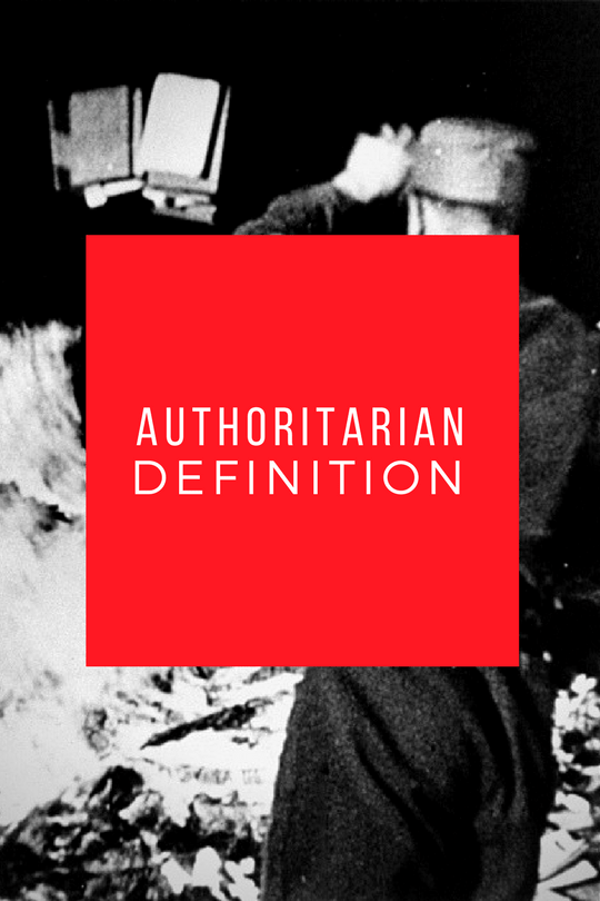 authoritarian definition for our time