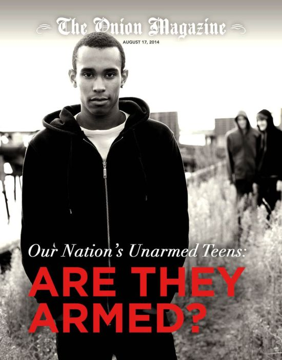 the onion our nations unarmed teens : are they armed?