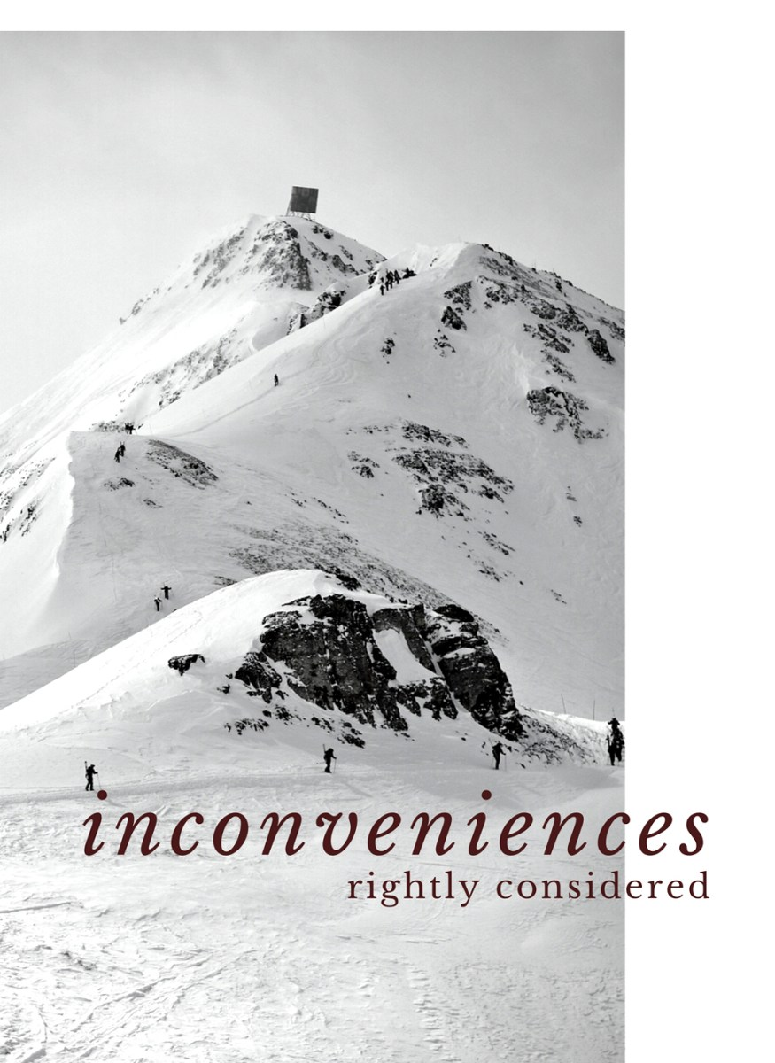 Silt : poem for Inconveniences Rightly Considered