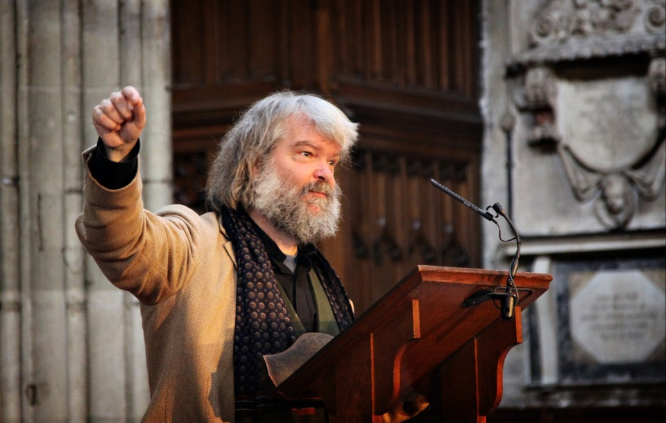 Malcolm Guite - Oxford 2011 -10 - Image copyright Lancia E. Smith and the C.S. Lewis Foundation