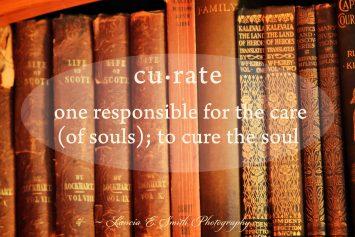 Curate - cure of souls