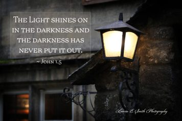 The Light is not overtaken by the darkness