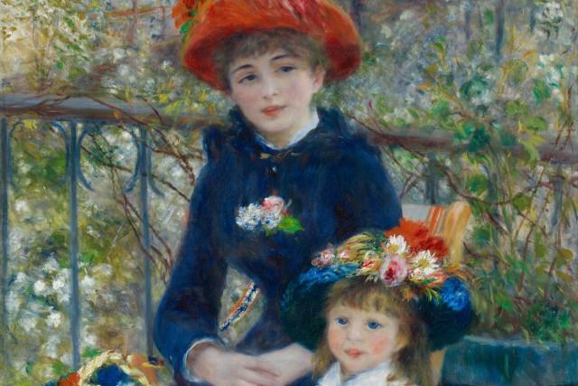 les deux soeurs - Renoir
