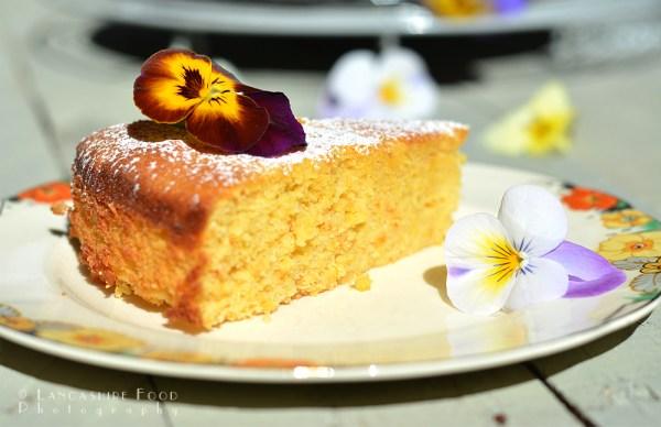 Blood Orange, Lemon and Almond Cake