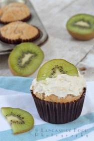 Kiwi Fruit Cup Cakes