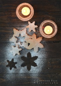 Chestnut Maple Snowflakes Biscuits