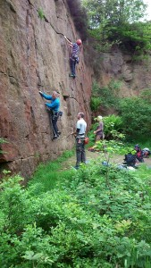 Anglezarke Climbing