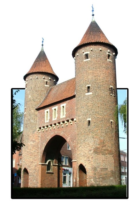 Lüdinghauser Tor in 3d