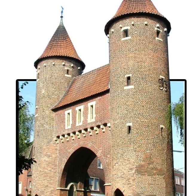 Lüdinghauser Tor in 3d