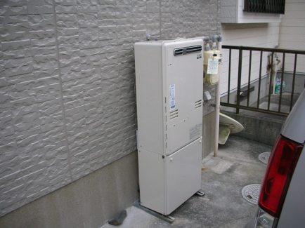 新給湯器 フルオートタイプ24号 床暖房用