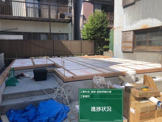 清須・西枇杷島の家新築工事