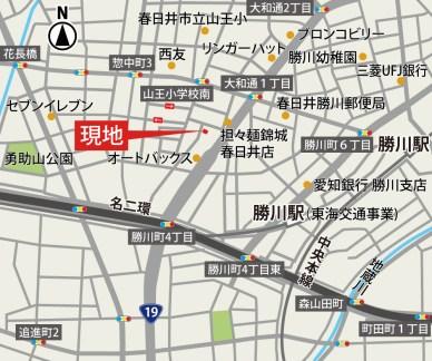 101942-勝川駅・惣中の家 地図