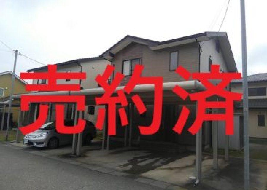 射水市本開発中古住宅、昨日ご契約いただきました。副題:人生の残りは6000日