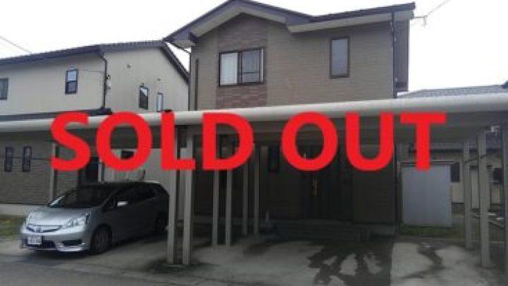 射水市本開発中古住宅、売買終了致しました。副題:家売る女