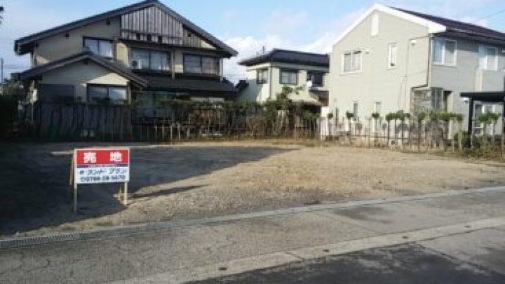 高岡市福岡町で、明るく、伸び伸びとした暮らしをお考えの方へ。木舟住宅用地 650万円