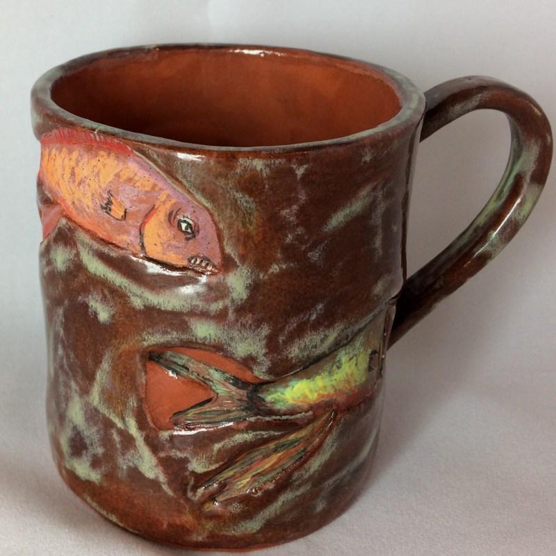 Fish mug.