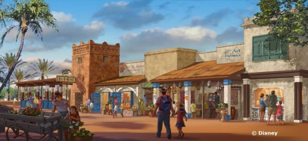 Spice Road Table Coming to Morocco Pavilion at Epcot World ...