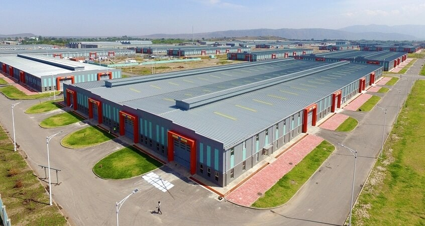 industrial park africa Uganda free zone sez special economic zone warehouse