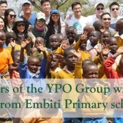 YPO Group at Embiti Primary School
