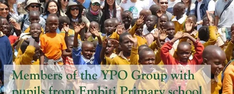 YPO Group at Embiti Primary School
