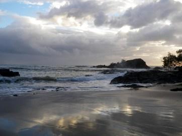 Workmans Beach - wild weather