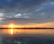 Sunrise at Bribie